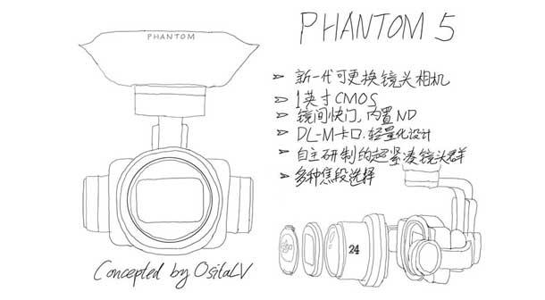 کوادکوپتر فانتوم مدل DJI Phantom 5