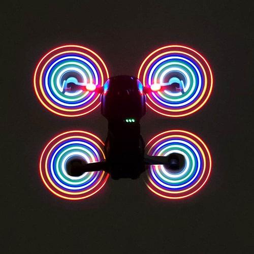 ملخ ال ای دی مویک ایر – dji mavic air led propellers -5