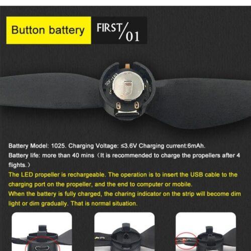 ملخ LED کوادکوپتر اسپارک – dji spark led propellers – domzik-com -5
