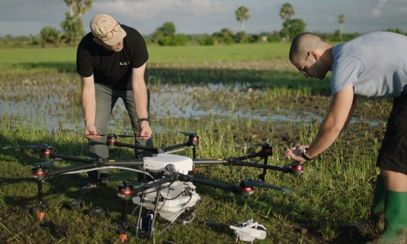 DJI's Agras Drones Fight Against Malaria in africa