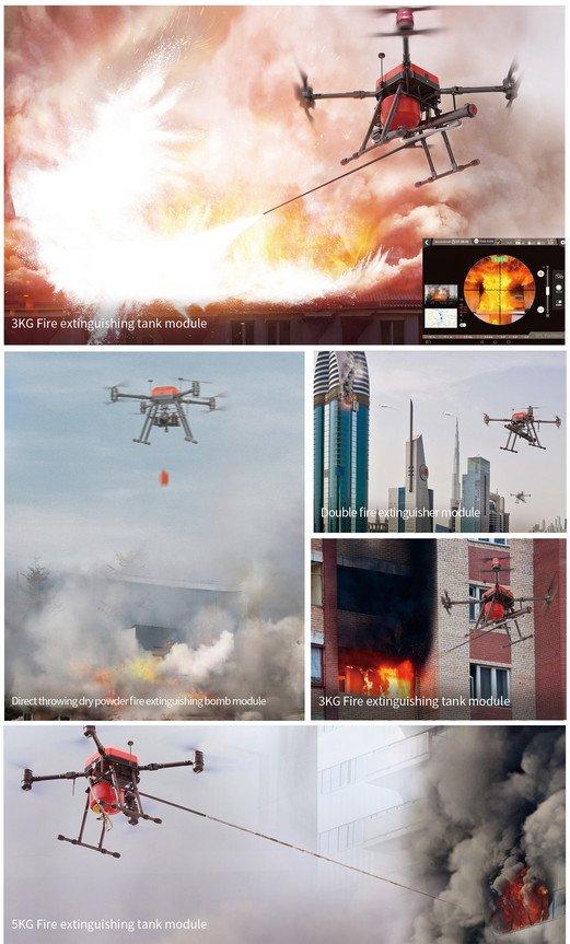 Walkera Drone Company Develops Firefighting