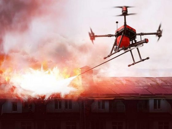 Walkera Firefighting Drone