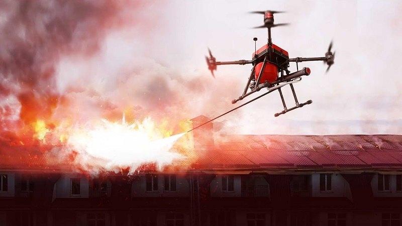 Walkera Firefighting Drone