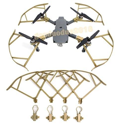ملخ مویک پرو پلاتینیوم طلایی mavic pro platinum propellers guard domzik com 1