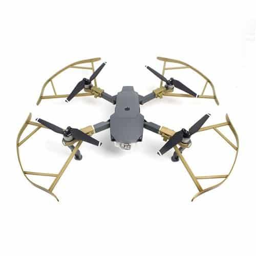 ملخ مویک پرو پلاتینیوم طلایی mavic pro platinum propellers guard domzik com 4