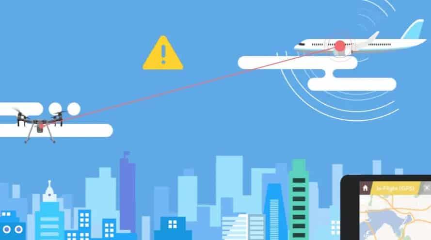 DJI AirSense چیست؟ کاربرد فناوری ADS-B بر روی کوادکوپتر