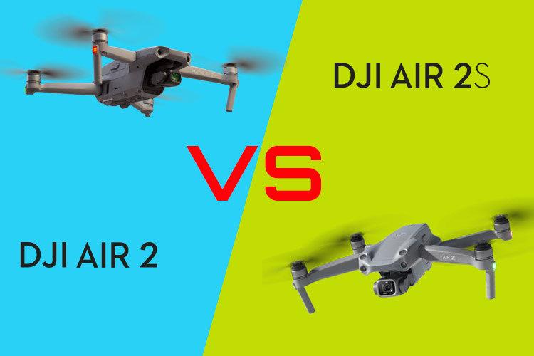 7 تفاوت کلیدی Mavic Air 2S و Mavic Air 2 که باید بدانید