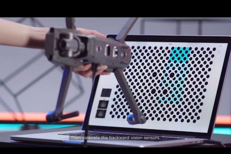 آموزش نحوه ی کالیبره کردن سیستم ویژن در DJI Mavic 2
